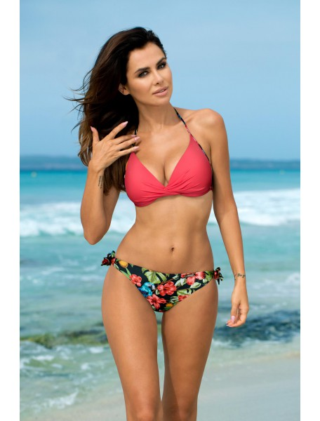 Anabel Parrot Coral Swimsuit A