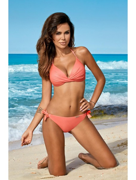 Anabel Shine Coral Swimsuit A