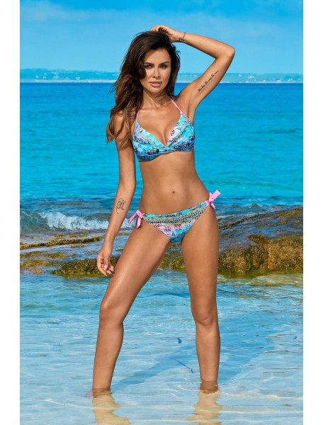 Swimwear Anabel Snake Blue A
